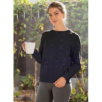 Above the galaxy sublimation sweatshirt