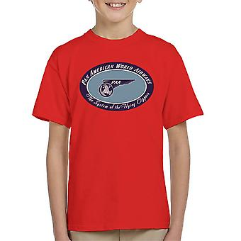 Pan Am The System Of The Flying Clippers Kid's T-Shirt