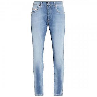 Diesel D-Strukt Light Blue Slim Denim Jeans 009NF