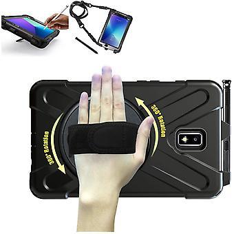 Wokex Samsung Galaxy Tab Active 2 Hlle SM-T395 T390 397 Verstellbarer Hand, Schulter Hals Gurt 8