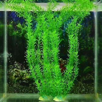 Mesterséges víz alatti növények akvárium akvárium akvárium tartály dekoráció zöld lila víz fű megtekintés dekoráció 3 db