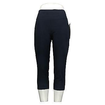 Kobiety z control kobiety&s Petite Spodnie Wicked Crop Spodnie Niebieski A307764