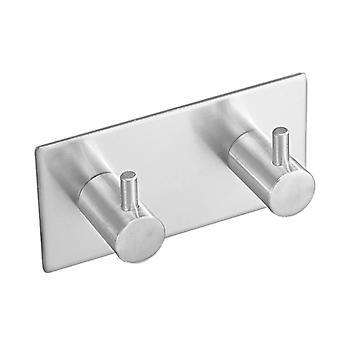 Robe Hook Wall Towel Bathroom Stainless Steel Coat Rustproof Hanger