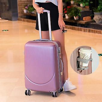 الساخنة 20-28 بوصة المتداول الأمتعة، Abs + PC حقيبة سفر النساء