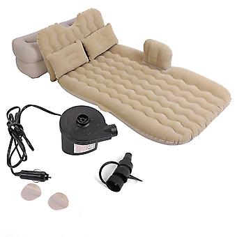 Car Inflatable Bed Back Seat Mattress Airbed For Camping