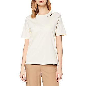Scotch & Soda T-Shirt aus Bio-Baumwolle, 0003 Ecru, XS Donna