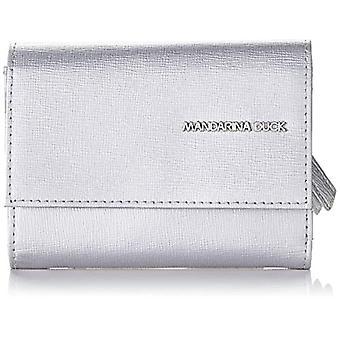 Mandarin Duck Essential, Women's Wallet, Silver, 1.5x9x12 cm (W x H x L)