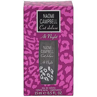 Naomi Campbell Cat Deluxe At Night Eau De Toilette 15ml EDT Spray