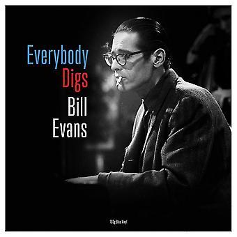 Bill Evans - Everybody Digs Bill Evans Blue  Vinyl