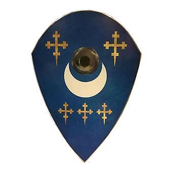 Wooden Cross Holy Knight Scottish Shield SWE150