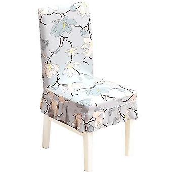4st Spandex stol omslag blommönster avtagbar stretch matsal bankettstol täcker hem