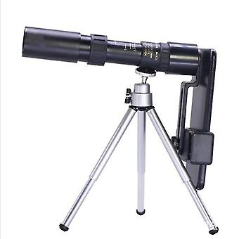 4K draagbare monoculaire scope 10-300x40mm (zwart)