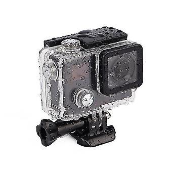 Hawkeye Firefly 7s 4k Impermeável 20m Hd Action Sports Dv Camera Black