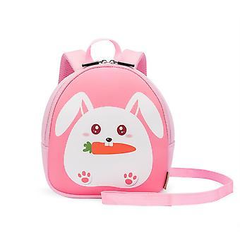 Kids Backpack Anti-lost Preschool Bag Cute Kitty Kindergarten Backpack Toddler Backpack, Orange