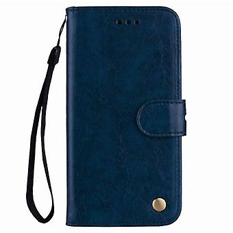 New Design Flip Wallet Pu Leather Case For Huawei Honor 7x Soft Business Cover
