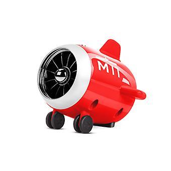 Creative Airplane Mini haut-parleur Bluetooth sans fil, portable extérieur (rouge)