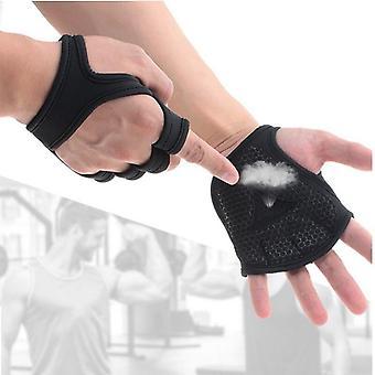 المرأة الرجال اللياقة البدنية رفع الأثقال قفازات التدريب