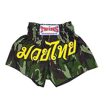 Tvillinger Boksning Shorts Army Green Medium
