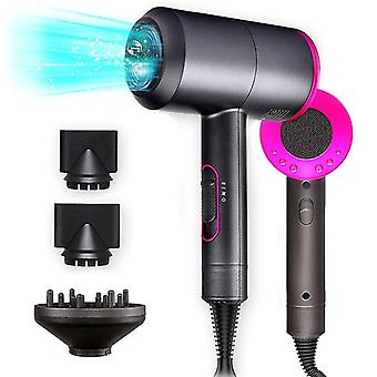 Ionic Hair Dryer, 1800w Professional Hair Dryer For Fast Drying