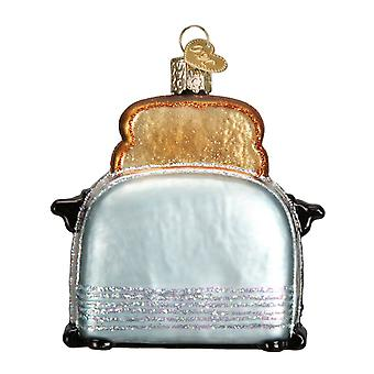 Old World Christmas Kitchen Toaster Retro Look Holiday Ornament Glass