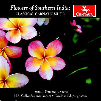 Flowers of Southern India - Classical Carnatic Music [CD] USA import