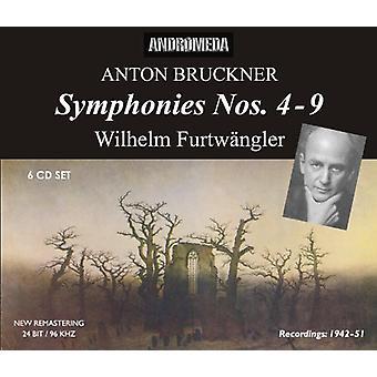 Bruckner/Furtwangler/Berliner Philharmoniker - Anton Bruckner: Symphonies Nos. 4-9 [CD] USA import