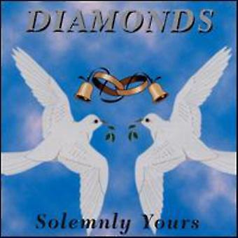 Diamonds - Solemnly Yours [CD] USA import
