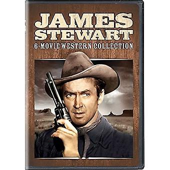 James Stewart: 6-film vestlige samling [DVD] USA importerer