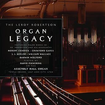 Robertson / Wolfor - Leroy Robertson Organ Lega [CD] USA import