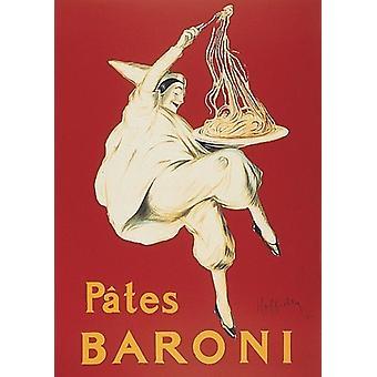 Pates Baroni plakat Print af Leonetto Cappiello (18 x 24)