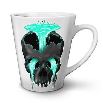 Head Waterfall Cool Skull NEW White Tea Coffee Ceramic Latte Mug 12 oz | Wellcoda