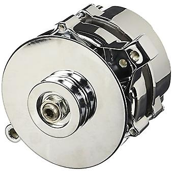 Tuff Stuff 7078NA Chrome 70 Amp 1-Groove Pulley Alternator for Ford