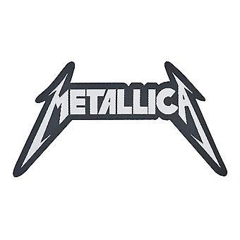 Metallica Shaped Logo Woven Patch