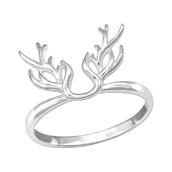 Antler - 925 Sterling Silver Plain Rings - W32279x