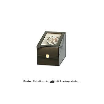 Portax Watchwinder classic 4 watches ebony Walnut Burl 1002274