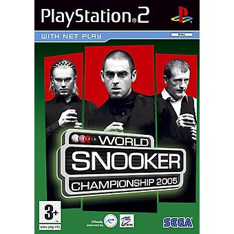 World Snooker Championship 2005 (PS2)-in de fabriek verzegeld