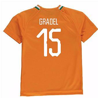 2018-19 Ivoor kust Home Shirt (Gradel 15)