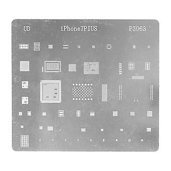 Verktyg för iPhone 7 Plus -0,15 mm BGA Reballing Stencil mall