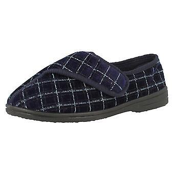 Mens wasbaar haak/lus schoen Slippers 2010-37