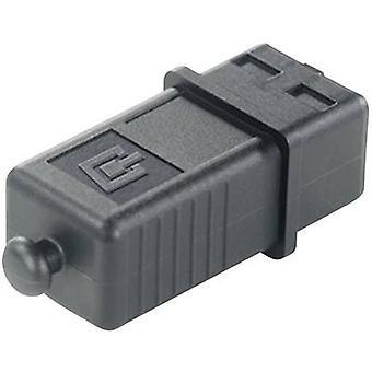 Suojaa suojatulppa plug-in versio 4 H80030A0001 musta Telegärtner H80030A0001 1 PCs()