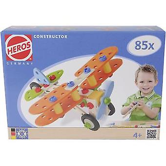 Heros Kit Constructor No. of parts: 85 No. of models: 4 Age category: 4 years and over
