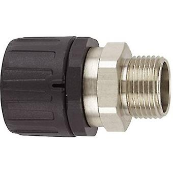 HG-SM rak vridbar Utvändig gänga, IP66 HG16-SM-M16 166-21301 Hellermann Tyton