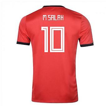 2018-19 Египет Adidas Главная рубашка (Салах 10 M)