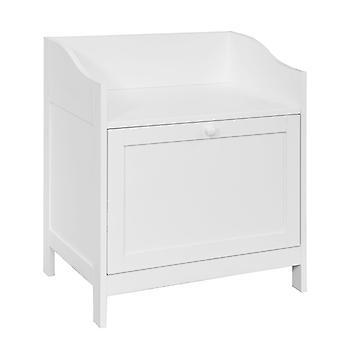 SoBuy Scarpa Storage Rack Cabinet con cuscino, FSR52-W