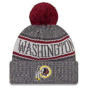 New Era NFL Sideline Graphite Mütze - Washington Redskins