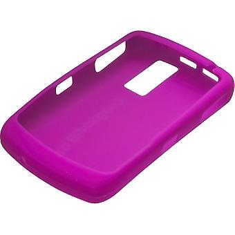 BlackBerry 8300, 8310, 8320, 8330 Curve silikoni iho tapauksessa - tumma Magenta