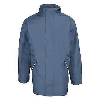 RTY Mens vêtements de travail professionnel Veste Coupe-vent IMPERMEABLE manteau noir, marine