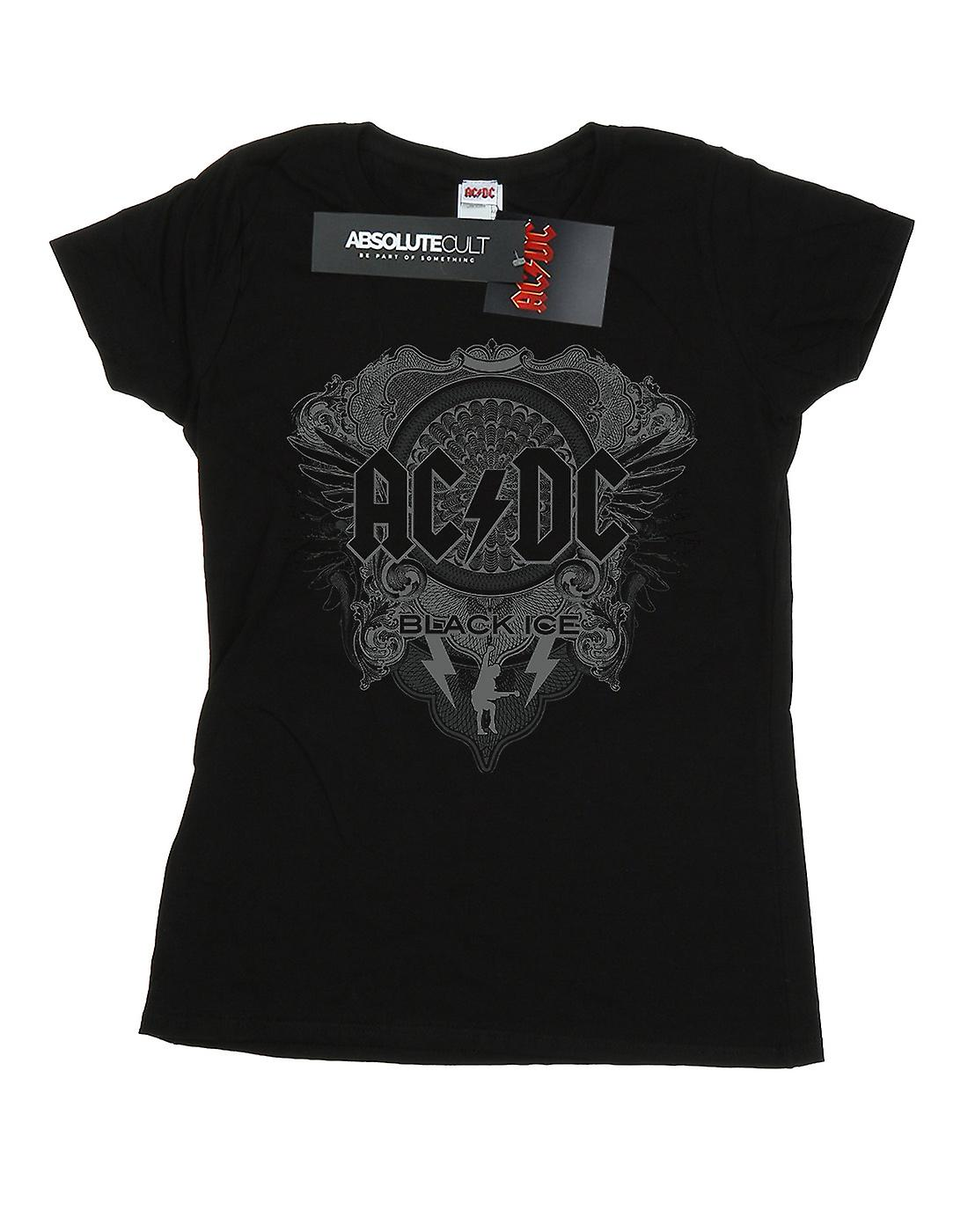 AC/DC Women's Black Ice T-Shirt