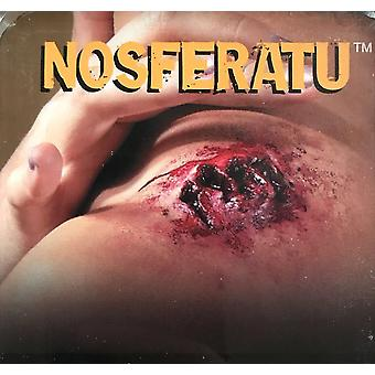 Nosferatu Monster Attack Horror Injury Victim Halloween Mens Costume Prosthetic