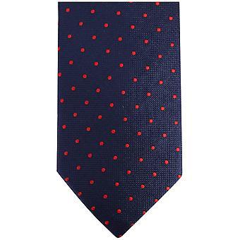 נייטסברידג ' וללבוש כתמים קנזינגטון עניבה-חיל הים/אדום